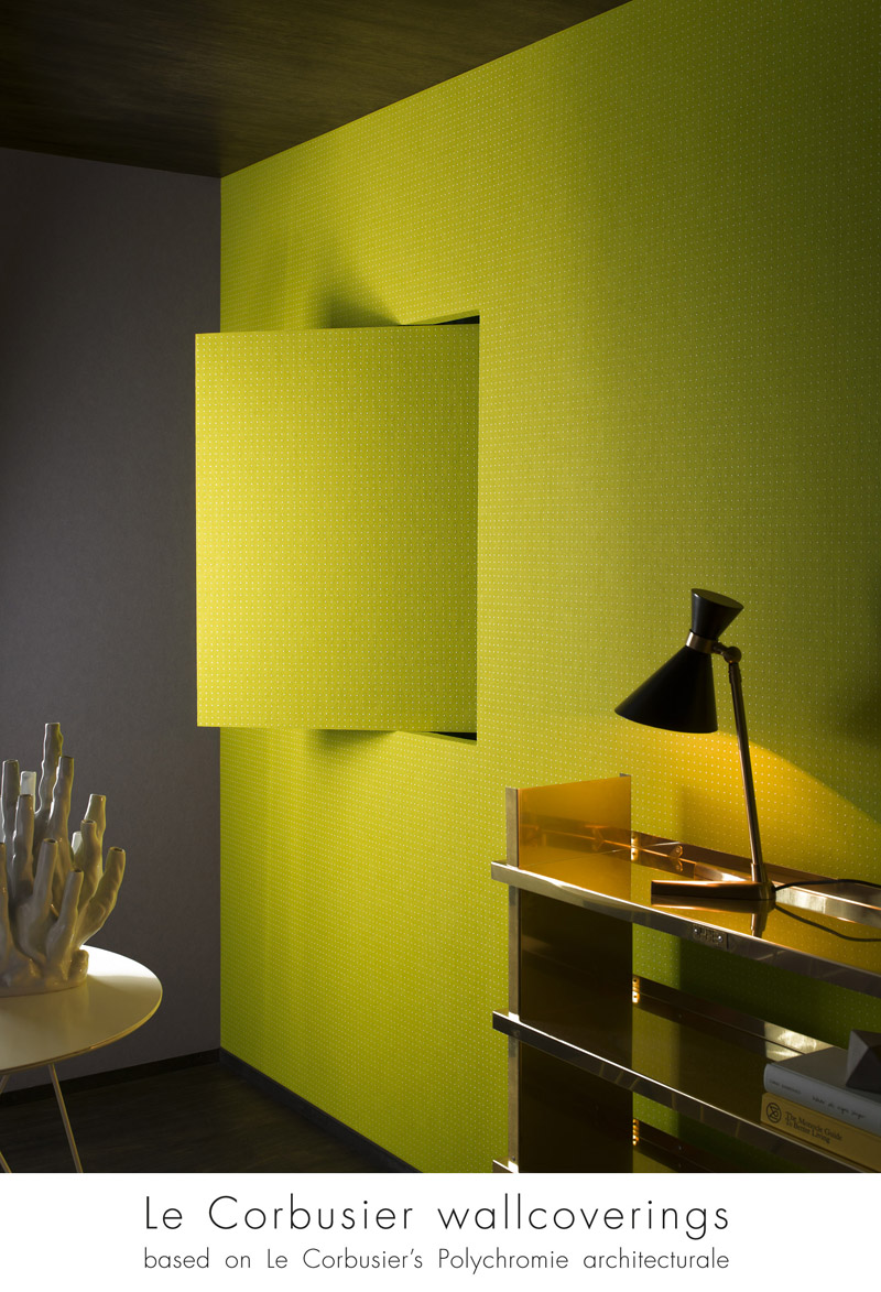 still dotty about le corbusier ani m interiors. Black Bedroom Furniture Sets. Home Design Ideas