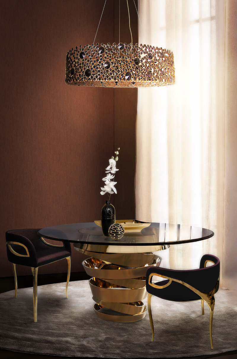 eternity-chandelier-intuition-dining-table-chandra-dining-chair-koket-projects